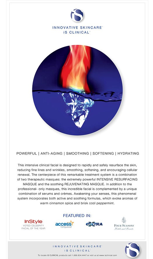 Fire and Ice Skin Treatment